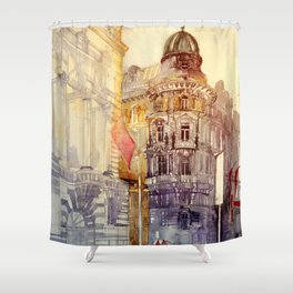 Wien Shower Curtain
