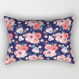 Aurora Floral - medium Rectangular Pillow
