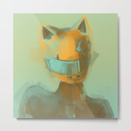 Celty Metal Print