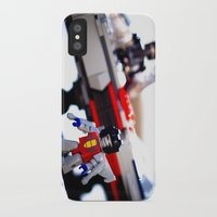 transformers iPhone & iPod Cases featuring Kre-o Transformers by TJAguilar Photos