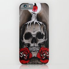 Voodoo Skull and Roses with candle iPhone 6s Slim Case