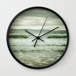 Rolling in (color) Wall Clock