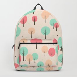 Pastel Forest Backpack