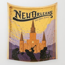 Vintage poster - New Orleans Wall Tapestry
