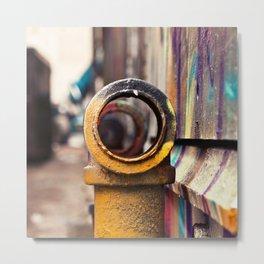 Pipe back-alley dream Metal Print