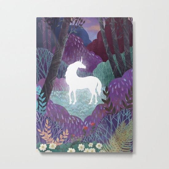 The Last Unicorn Metal Print