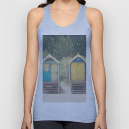 walking up the stairs ... Unisex Tank Top