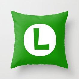 Nintendo Luigi Throw Pillow