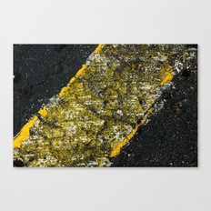 asphalt 3 Canvas Print