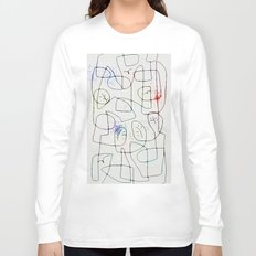 maze with trees Long Sleeve T-shirt