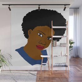 Love Your Beautiful Afro Natural Hair Wall Mural