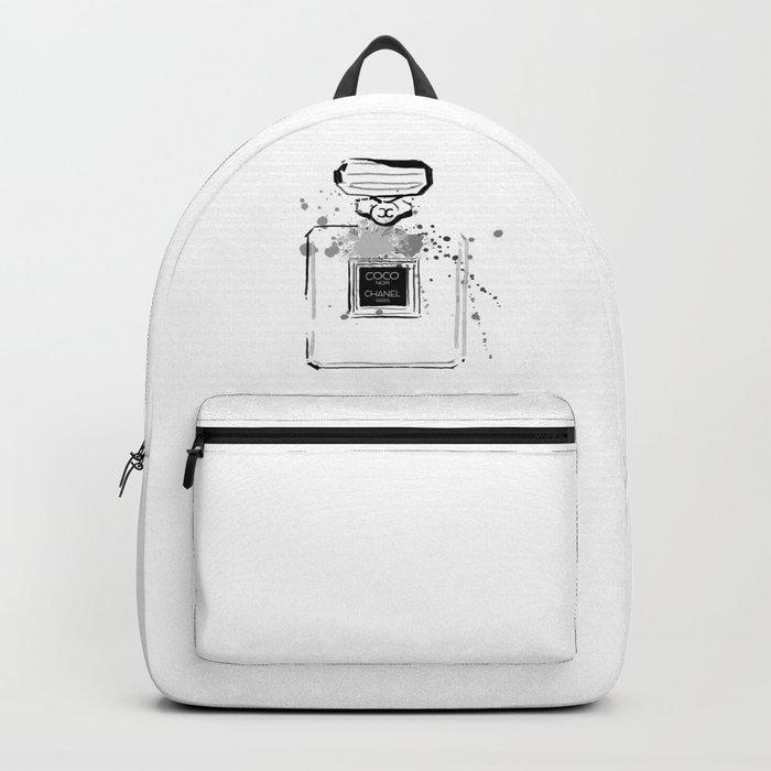 Black Perfume Backpack