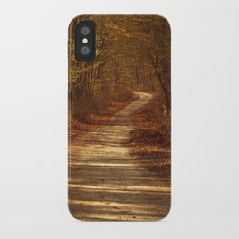 The path to nowhere iPhone Case