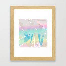 Minimal Pop Framed Art Print