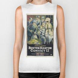 Vintage poster - Convict 13 Biker Tank
