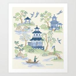 Chinoiserie Kunstdrucke
