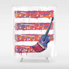 GuitArt Shower Curtain
