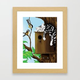 The Mighty Hunter Framed Art Print