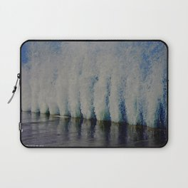 Lake Michigan Natural Fountains #4 (Chicago Waves Collection) Laptop Sleeve
