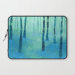 Bluebells, Challock Laptop Sleeve