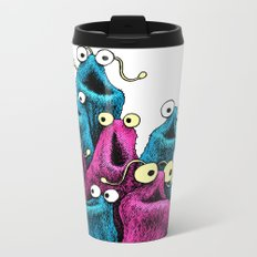 Yip Yip (bright n cheery) Metal Travel Mug