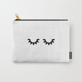 long lashes Carry-All Pouch