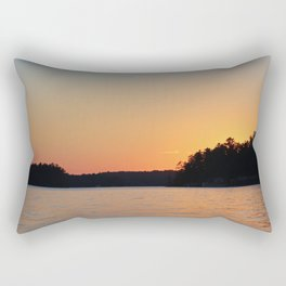 Lake Sunset Rectangular Pillow
