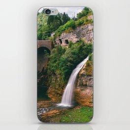 Cascata Di Ponte Serra Lamon Belluno Veneto Italy Ultra HD iPhone Skin