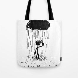 Turn that cloud, upside down! Tote Bag