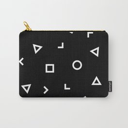 Basic Geometry Carry-All Pouch