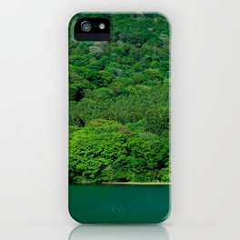 Heat Wave Hakone iPhone Case