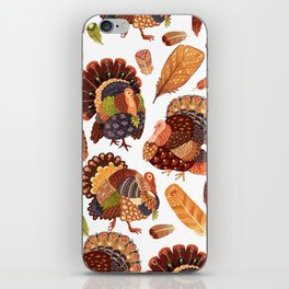 Turkey Gobblers iPhone Skin