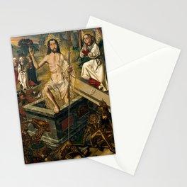 Resurrection by Bartolome Bermego, 1475 Stationery Cards