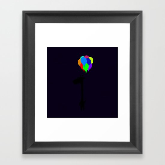 The Happy Flight Framed Art Print