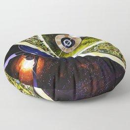 Cutaway View, Bernal Sphere Floor Pillow