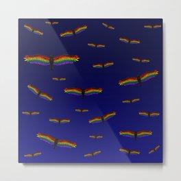 Fly With Pride, Raven Series - LGBTQ Metal Print