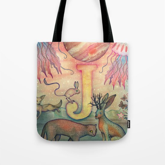 'J' is for... Tote Bag