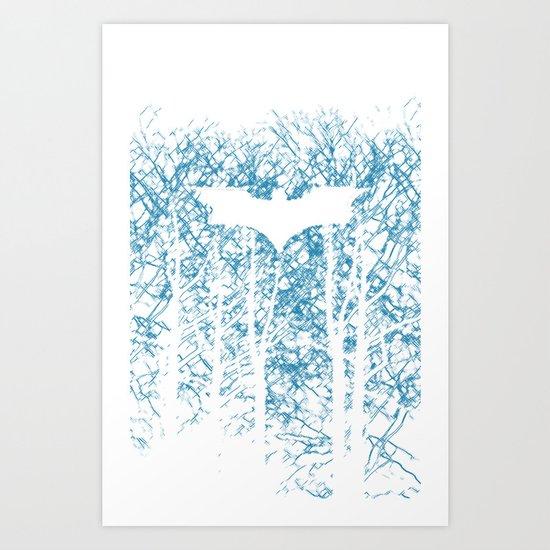 Hidden Hero Art Print