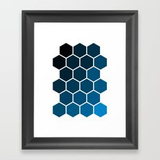 Geometric Abstraction II Framed Art Print
