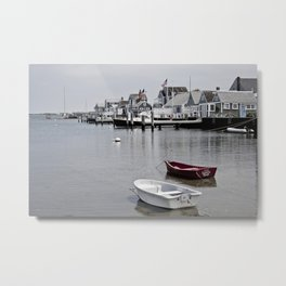 the sunken ship--muted color Metal Print
