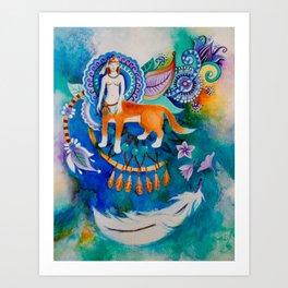 Dream Catcher Art Print