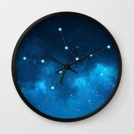 Virgo: Astrological Art Wall Clock