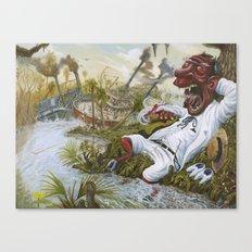The Devil's Knee Canvas Print