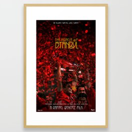 The Miracle of Istanbul Framed Art Print