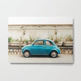 Vintage Euro Car Metal Print