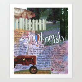 Snohomish, Washington Art Print