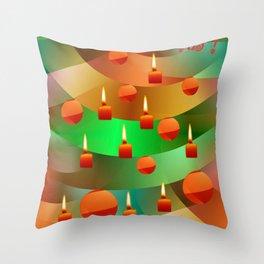 Merry Christmas -2- Throw Pillow
