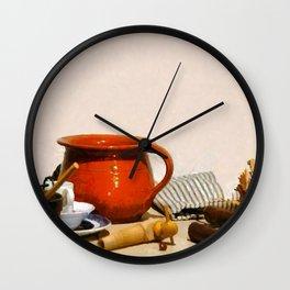 Pantry Table Wall Clock