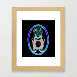 Dicky Magoo Logo Framed Art Print