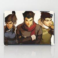 returns iPad Cases featuring Korra Returns by Caleb Thomas